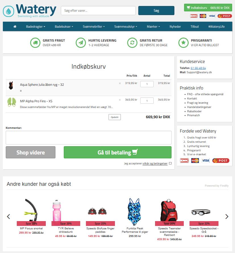 case kategoriside konverteringsrate seo shopify webshop indkøbskurv
