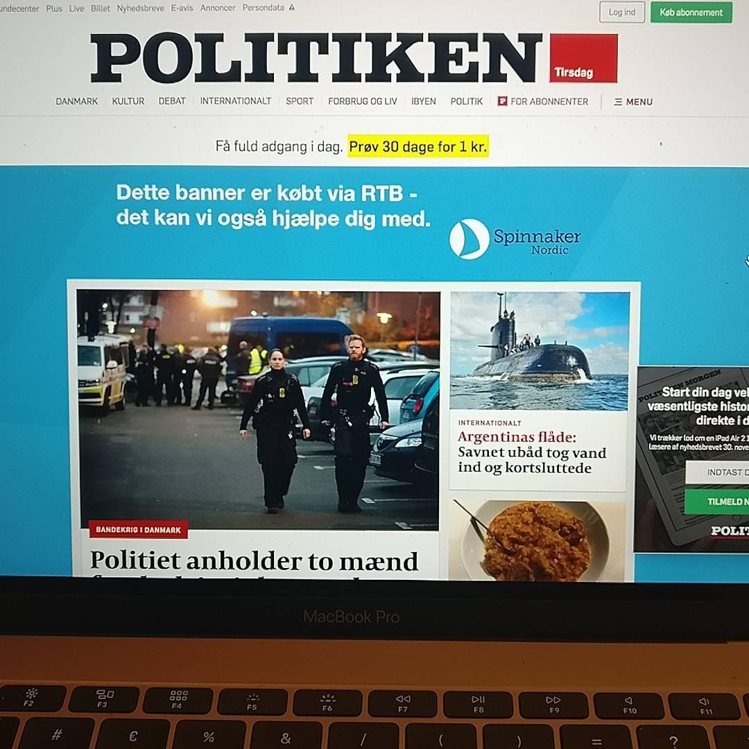 Eksempel på wallpaper på politiken.dk købt via RTB