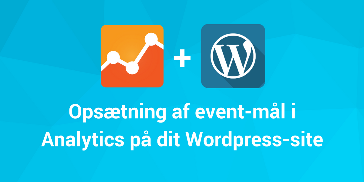 opsætning tag manager wordpress analytics