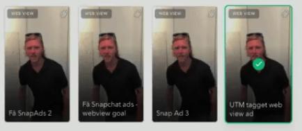 Snapchat Annonce Guide Til Opsætning af Snapchat-annonce