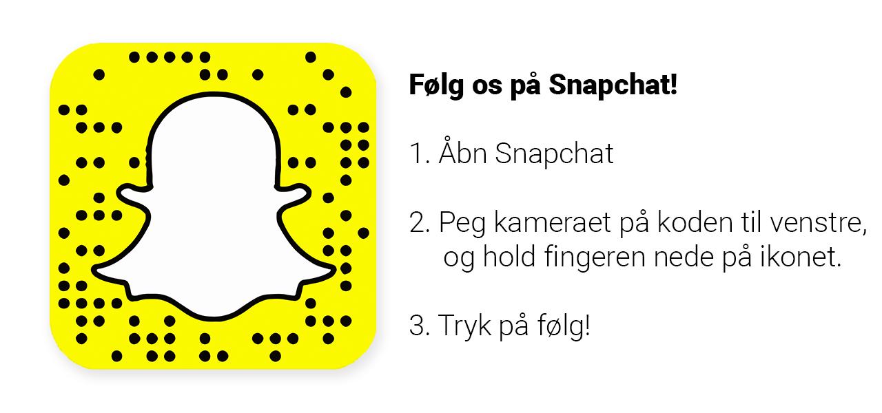 snapchat annoncering dansk danmark