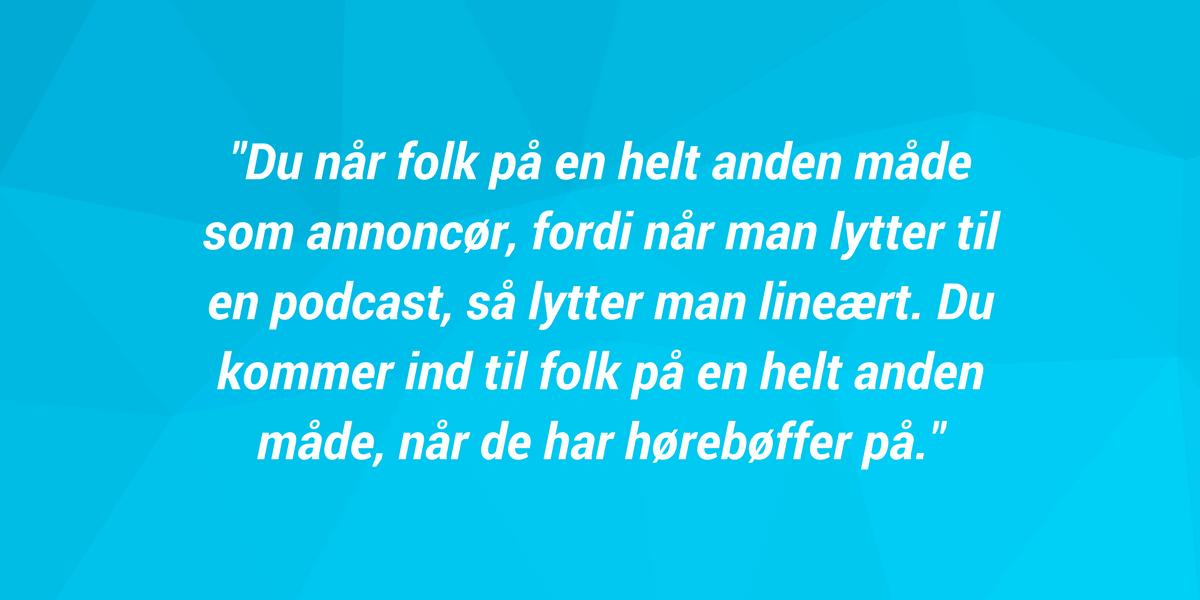 Astrid Skov - Episode 24 - Spincast - Om avisernes brug af podcasts