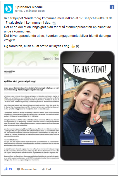 Snapchat Geo-filter - Køb Geo-filter - Sønderborg Kommune
