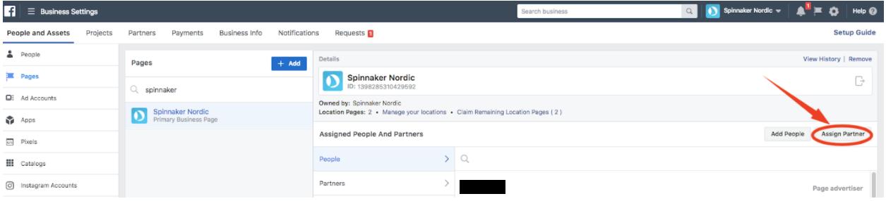 1 3 Giv andre adgang til Facebookside