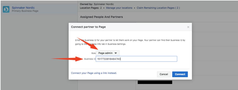 1 5 Giv andre adgang til Facebookside