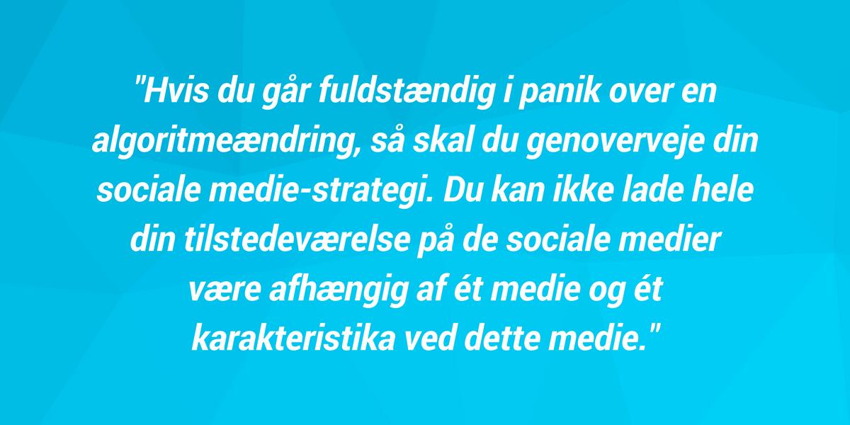 Julia Fennefoss Vollertsen - Spincast - Episode 35 - Facebook-annoncering og algortimeændring