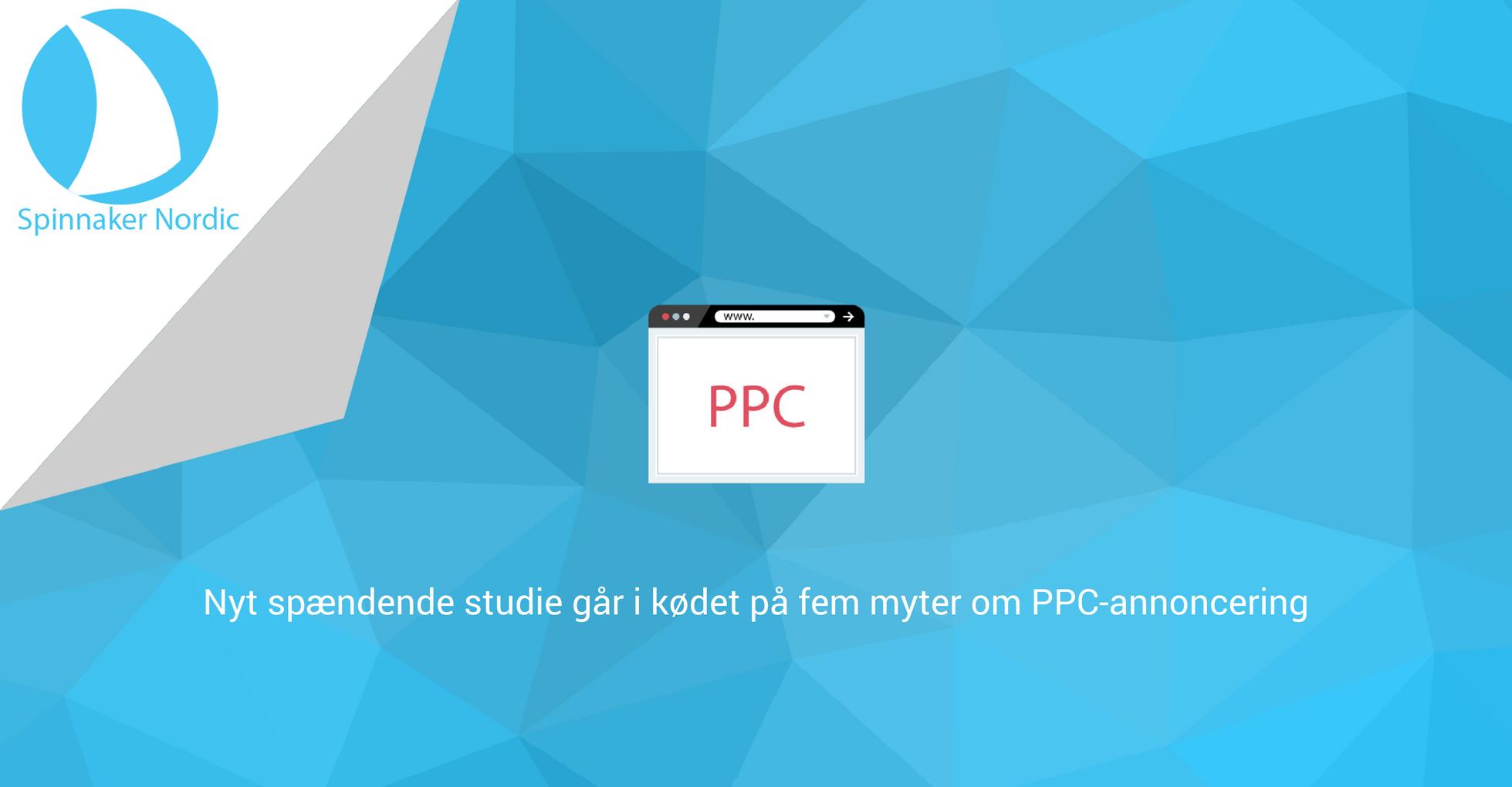 Blogindlæg - Studie afliver PPC-myter